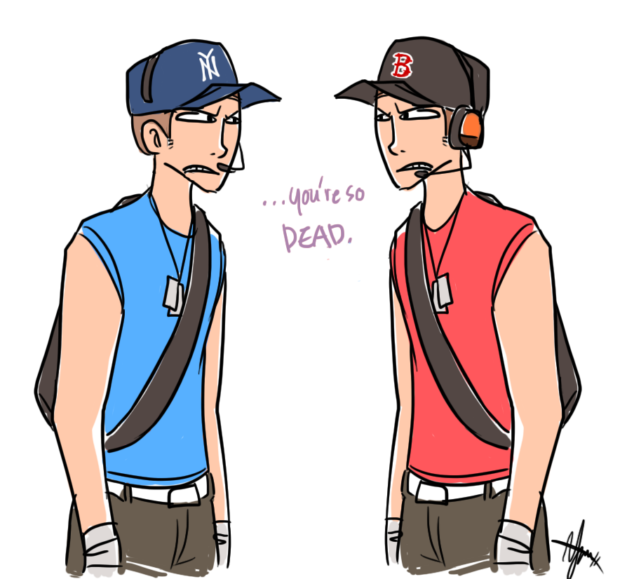 TF2: The Baseball Scouts by ky-nim