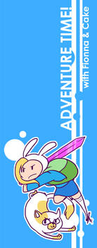 AT: Fionna+Cake Bookmark