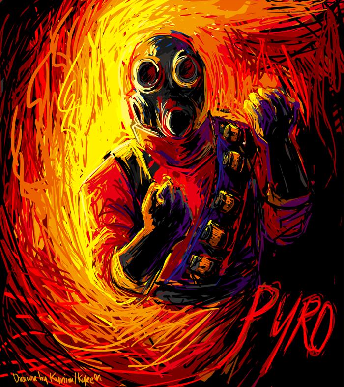 Tf2 Pyro Sprays Tf2 The Pyro by ky Nim