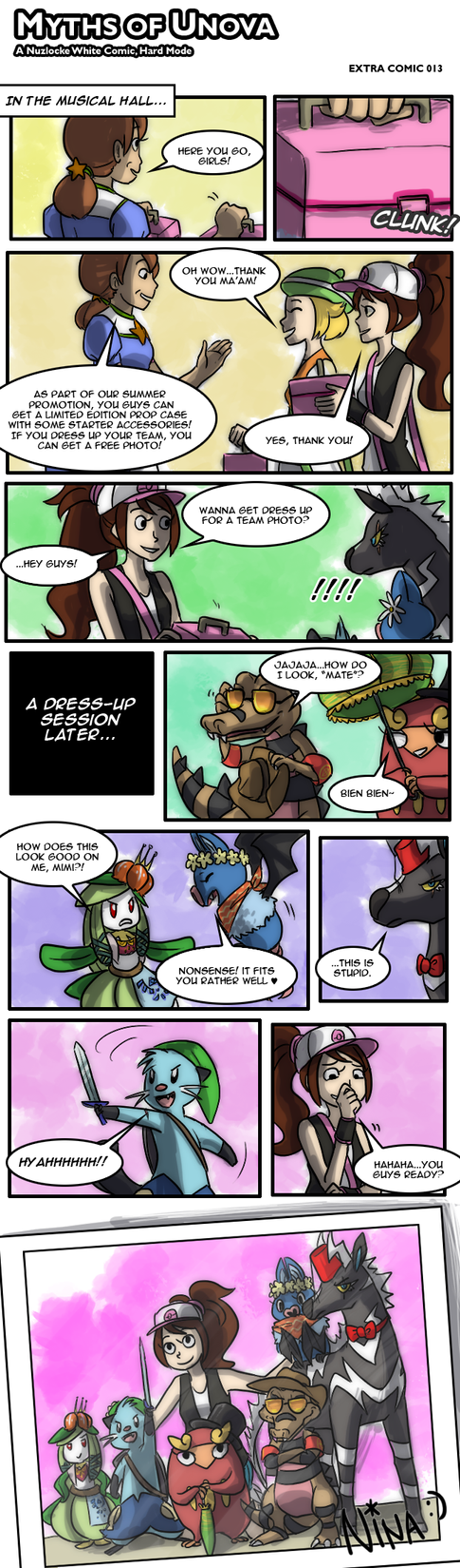 White Nuzlocke: Extra Comic 13 by ky-nim