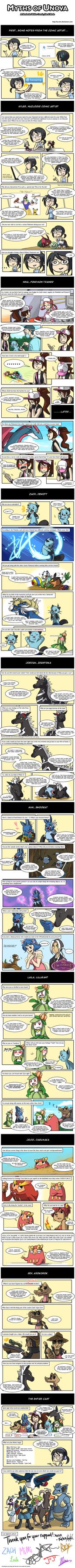 White Nuzlocke: 1st Q+A Comic by ky-nim