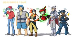 Pokemon OC: Heartgold Team