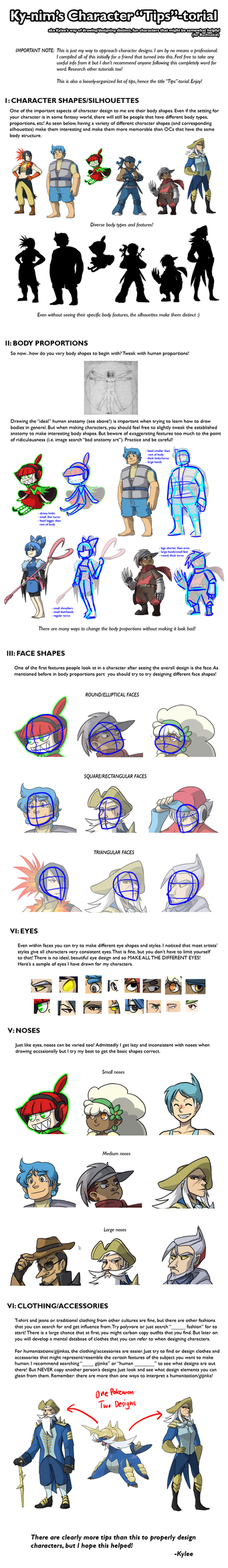 Basic Character Design Tutorial : Tutorial character design by ky nim on deviantart