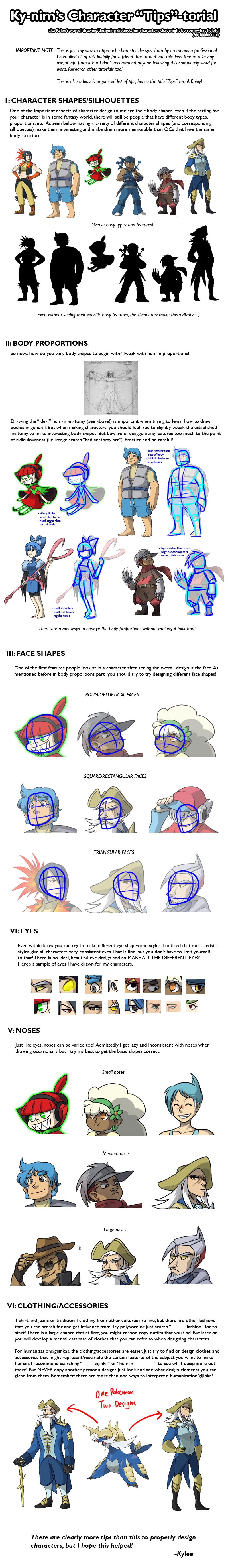 Tutorial For Character Design : Tutorial character design by ky nim on deviantart