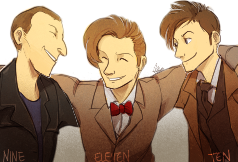 10 and 11th doctor meet