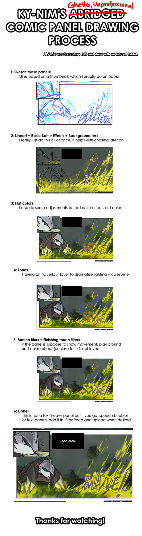 Tutorial: Panel-Drawing+Coloring by ky-nim
