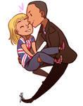 Doctor Who: Nine + Rose