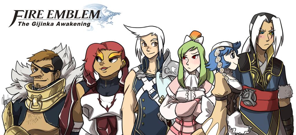Nuzlocke White + Fire Emblem: GIJINKA AWAKENING by ky-nim