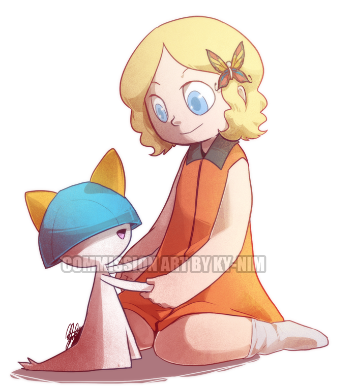 Commission: Trainer Key by ky-nim