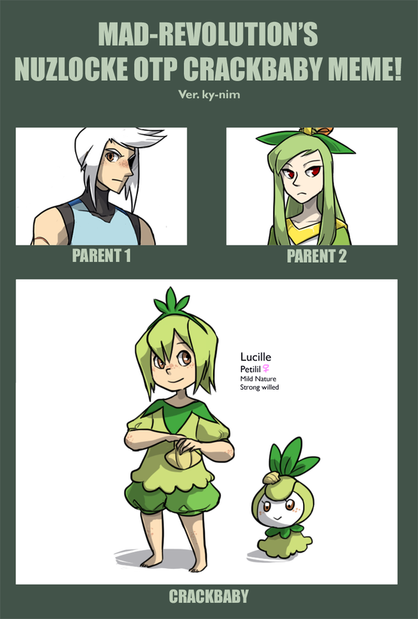 Nuzlocke Crack: SHELLSHIPPING by ky-nim