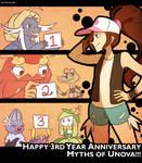 Nuzlocke White: Happy 3 Year Anniversary!