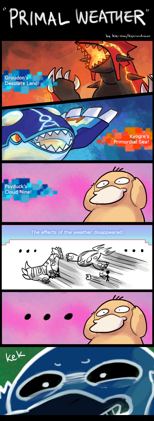 Pokemon ORAS: Primal Weather by ky-nim