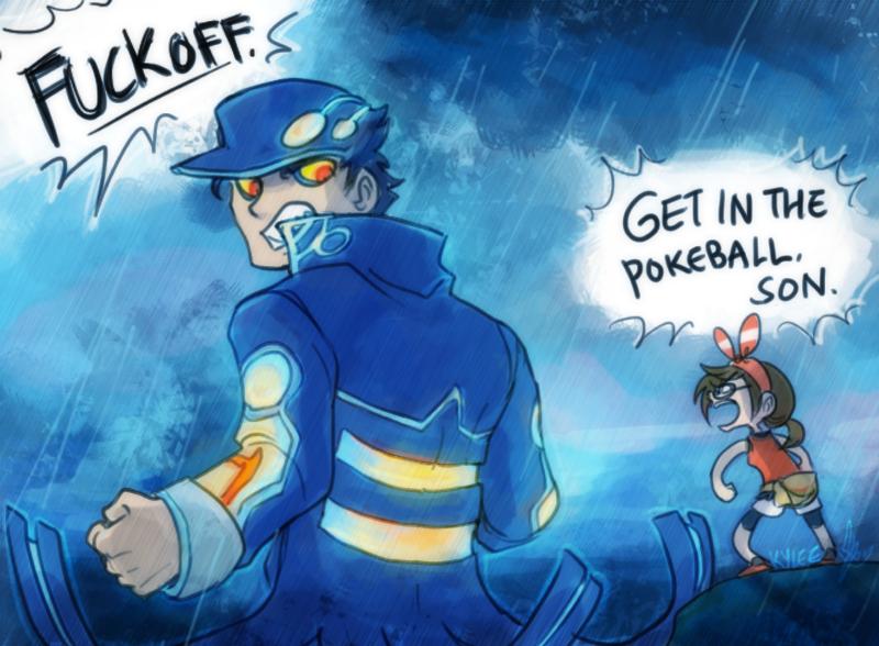 Pokemon ORAS: KYOGRETARO by ky-nim on DeviantArt
