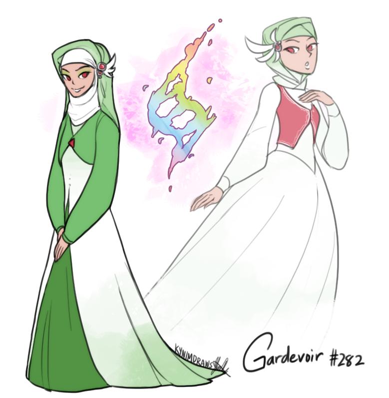 Pokemon ORAS: Emily the Gardevoir by ky-nim