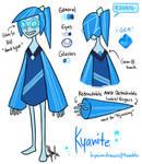 Steven Universe Gemsona: Kyanite