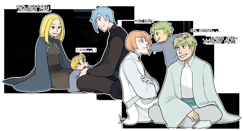 Nuzlocke White: Their Children by ky-nim