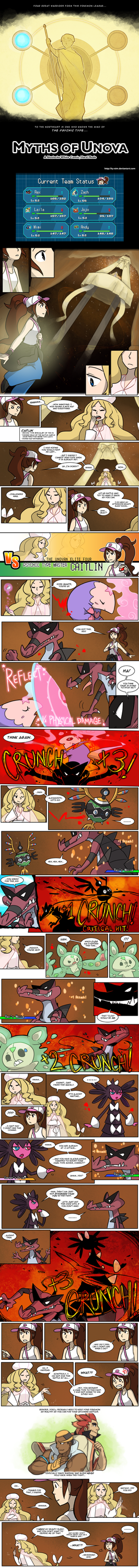 Nuzlocke White: VS. Caitlin (FOR REALS) by ky-nim
