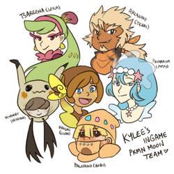 Pokemon: My Moon Team