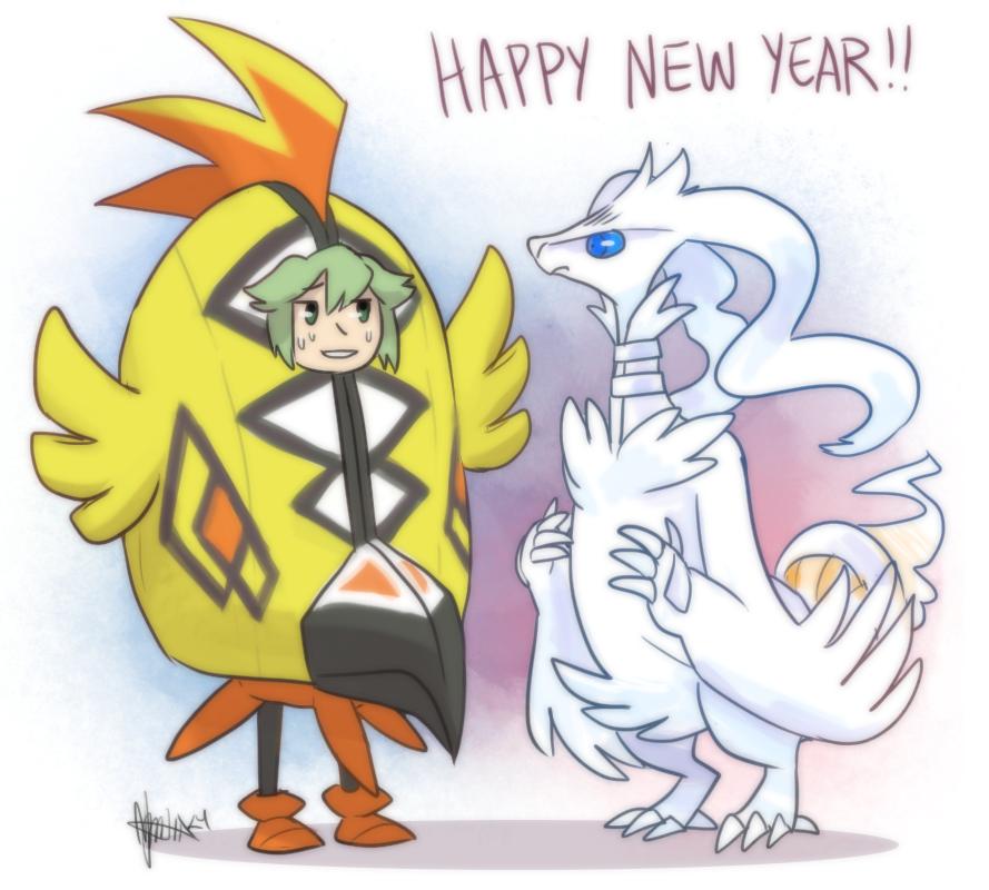 Nuzlocke: HAPPY NEW YEAR! (2017) by ky-nim