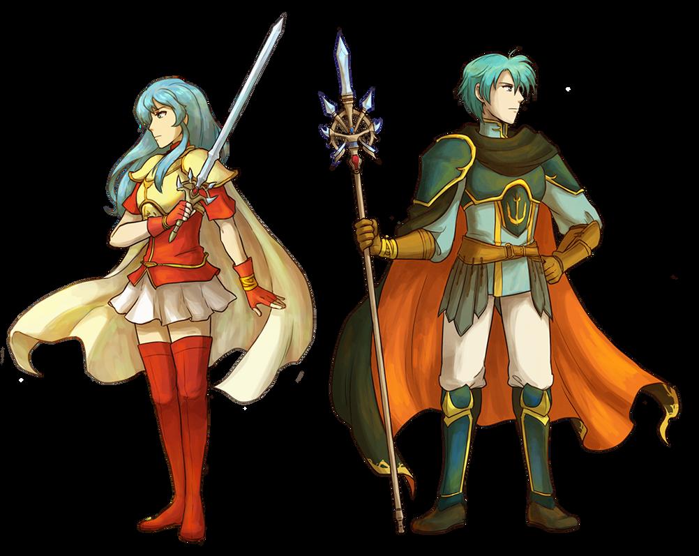 Commission+Fire Emblem: The Twins of Renais