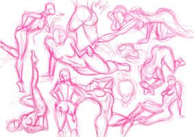 girly poses by tanggod