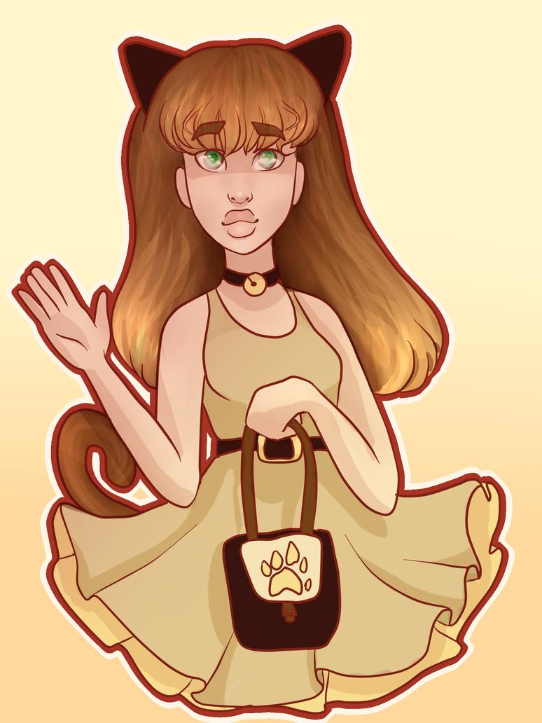 Cat girl by Susiecorn