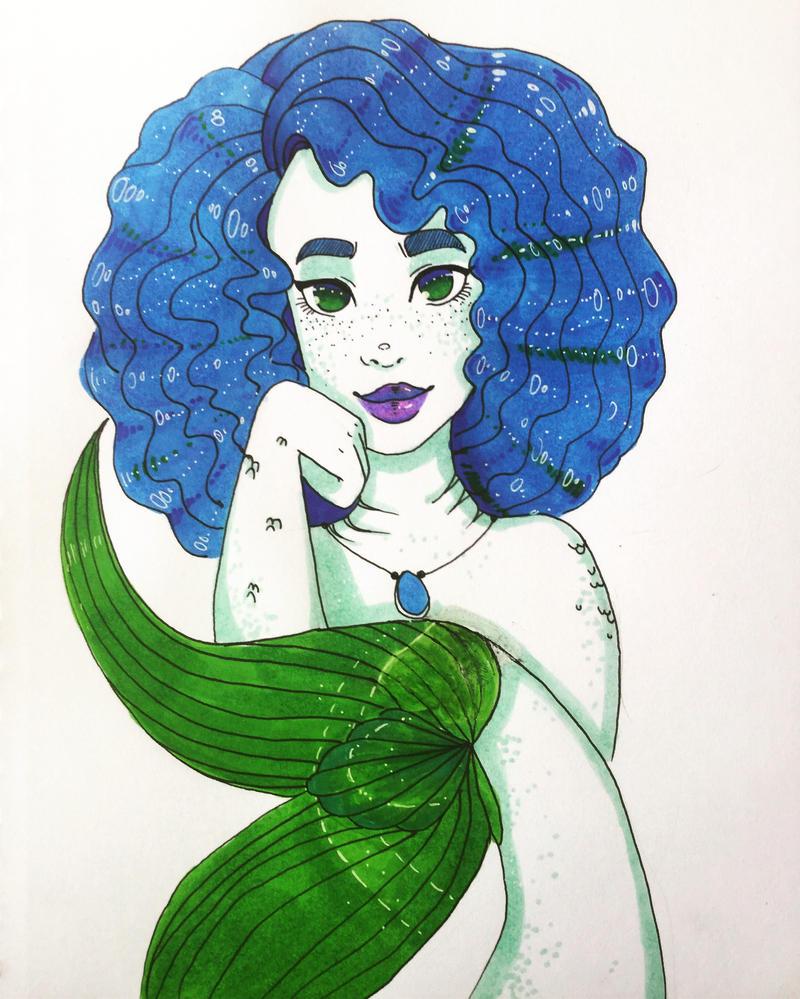 Mermaid  by Susiecorn