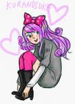 princess jellyfish: kuranosuke