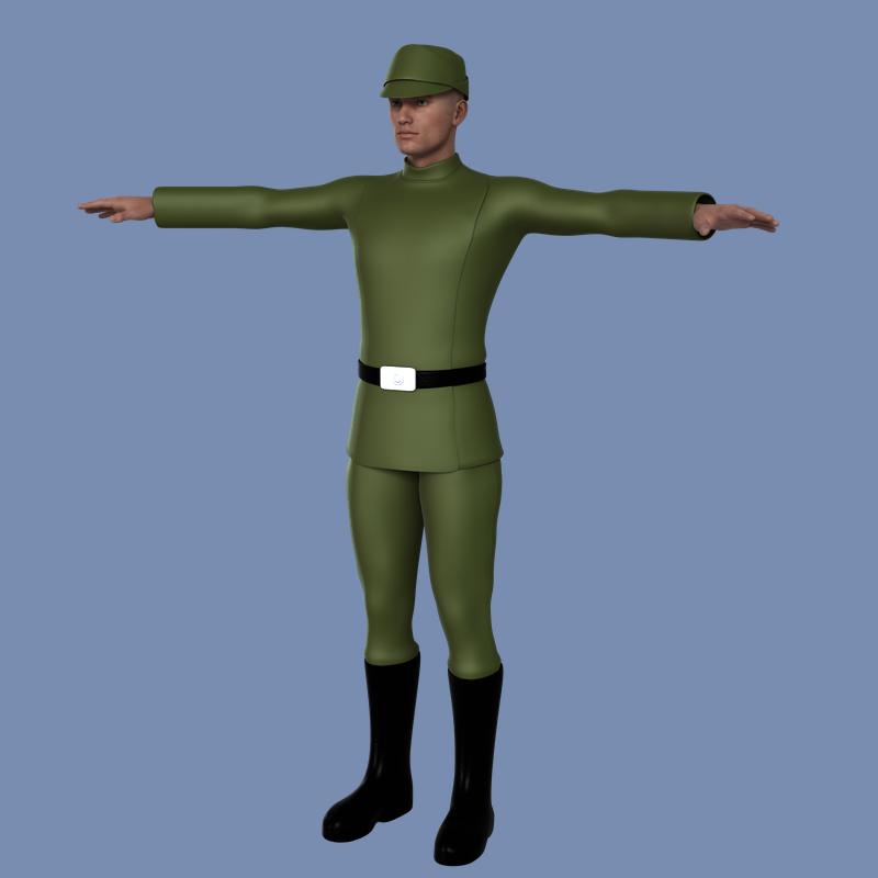 Galactic Officer Uniform by vilmur