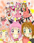 The Pink Magic Triplets :D