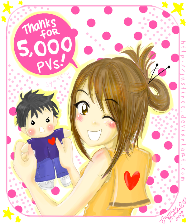 Aiko Makimachi-Kiriban 5,000 by justinee