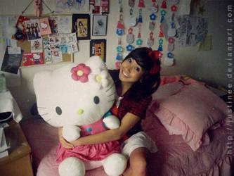 My Hello Kitty Valentine by justinee