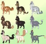 Adopts: Cat Adoptables (8/9)