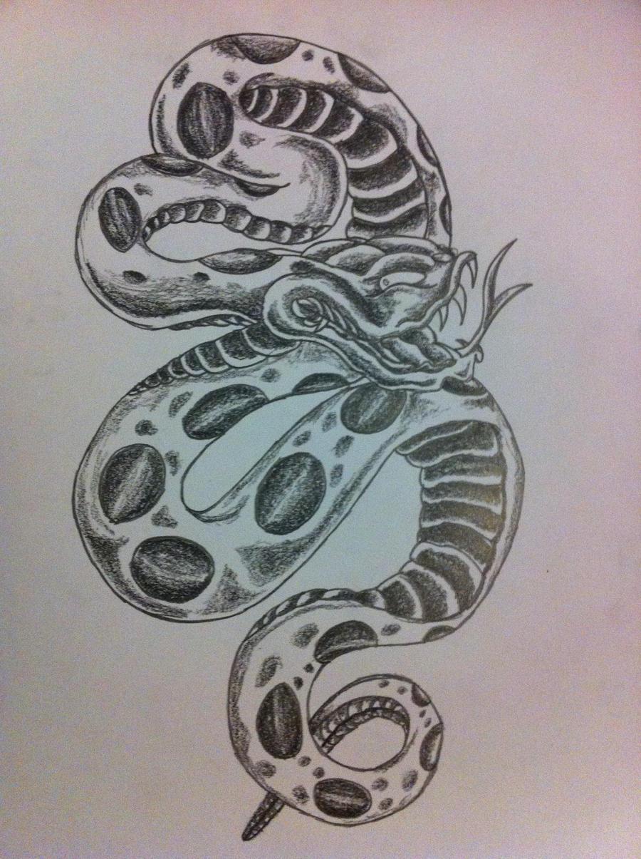 Snake by inkmanik