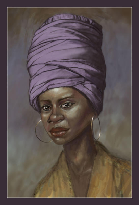 African Woman - study by Tortoiseshell