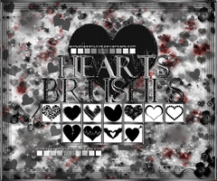 @Brushes Heart by ItMustBeenLove