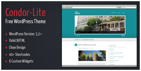 Condor-Lite - Free WordPress Theme by alexgurghis