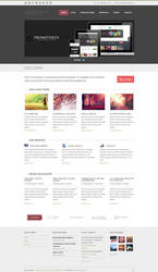 Prometheus - A Responsive WordPress Theme by alexgurghis