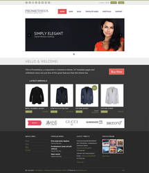 Prometheus - A Responsive e-Commerce Theme by alexgurghis