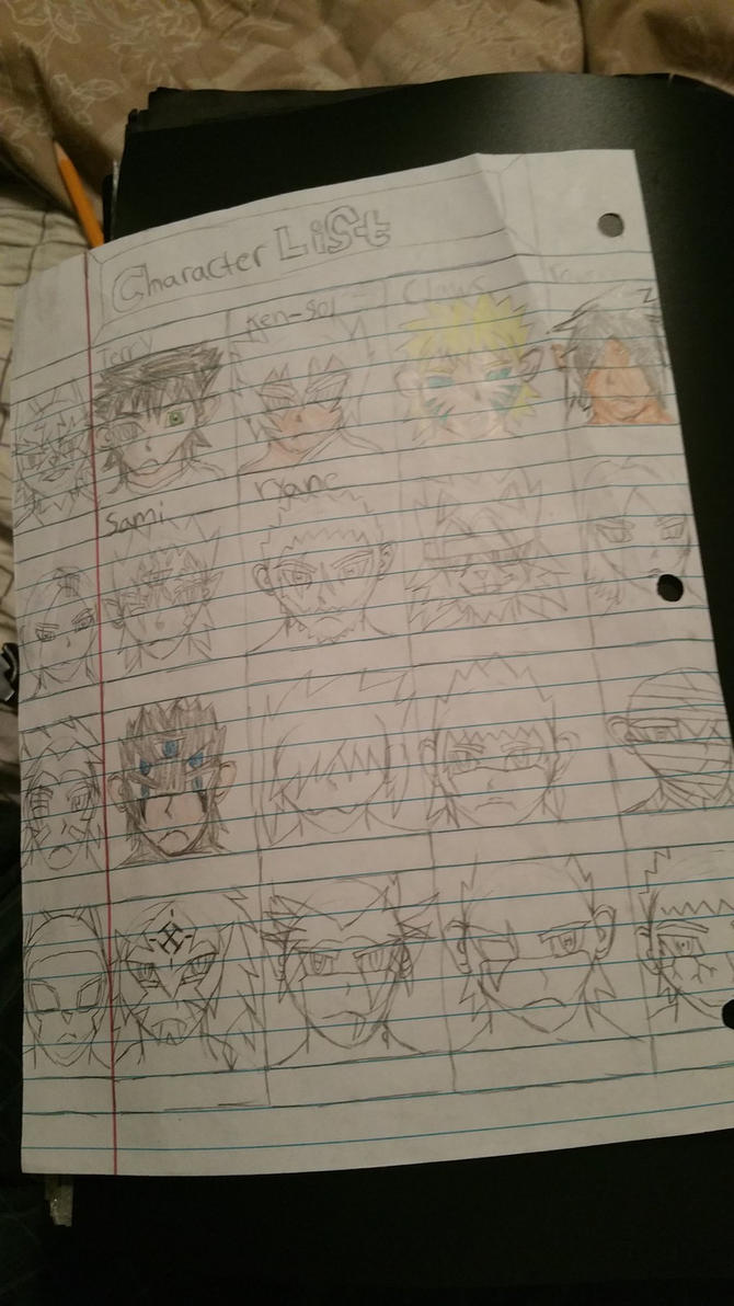 new character sheet by booglybear