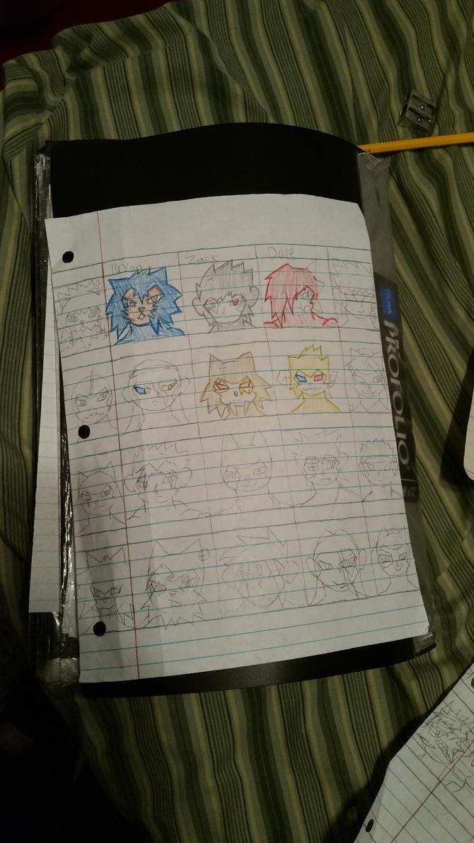 Character Sheet 5 by booglybear