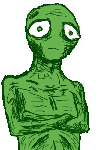 Zombie Alien by alexblue0