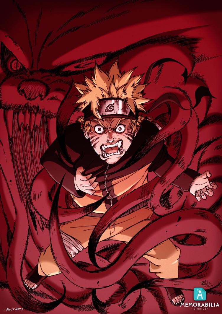 Naruto's Anger by Memorabilia-Studios