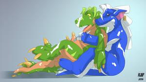 Deflating Raptor by ReinhardtGSD