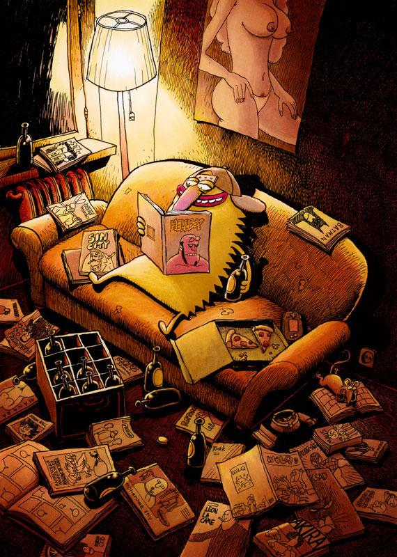 jerzy czyta