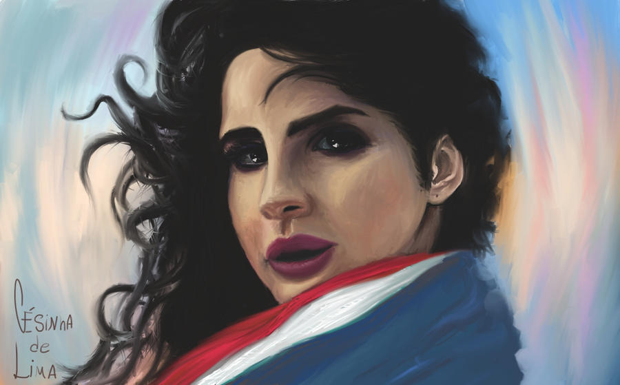 Lana Del Rey by cesinhalima