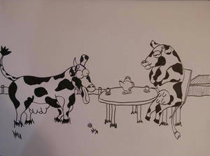 Barnyard Tea Party