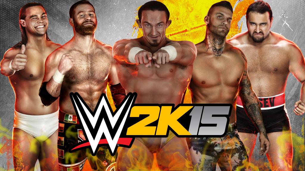 WWE 2K15 NXT Wallpaper By Krehani29