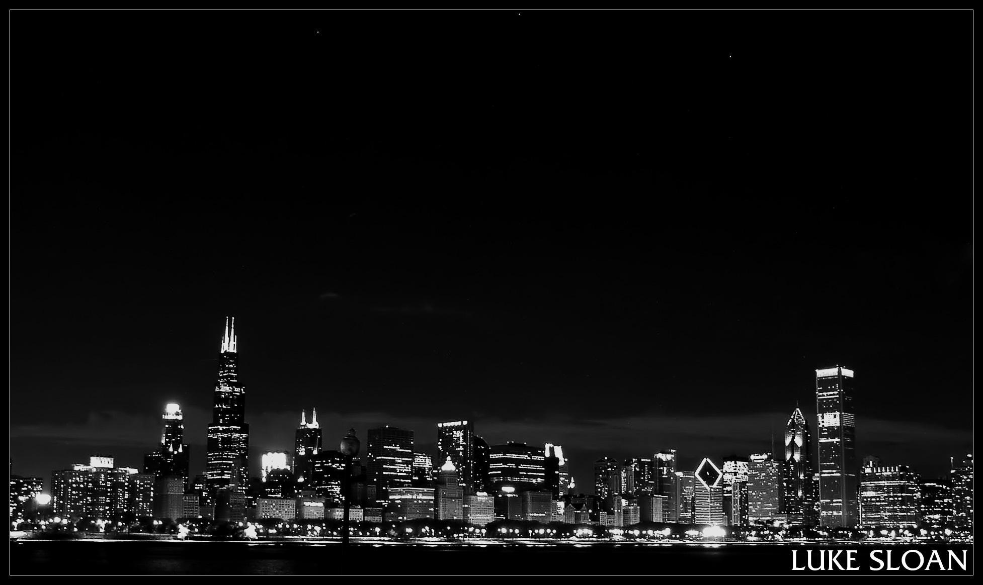 Chicago Skyline By Jetsiphon