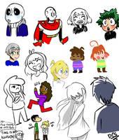 5/2/17 doodles by DesDraws